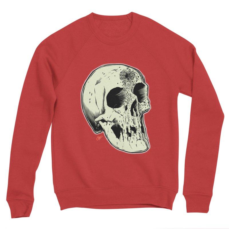 Voodoo Skull Women's Sponge Fleece Sweatshirt by The Art of Coop