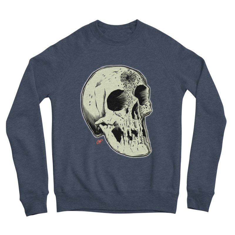 Voodoo Skull Women's Sponge Fleece Sweatshirt by The Art of Coop