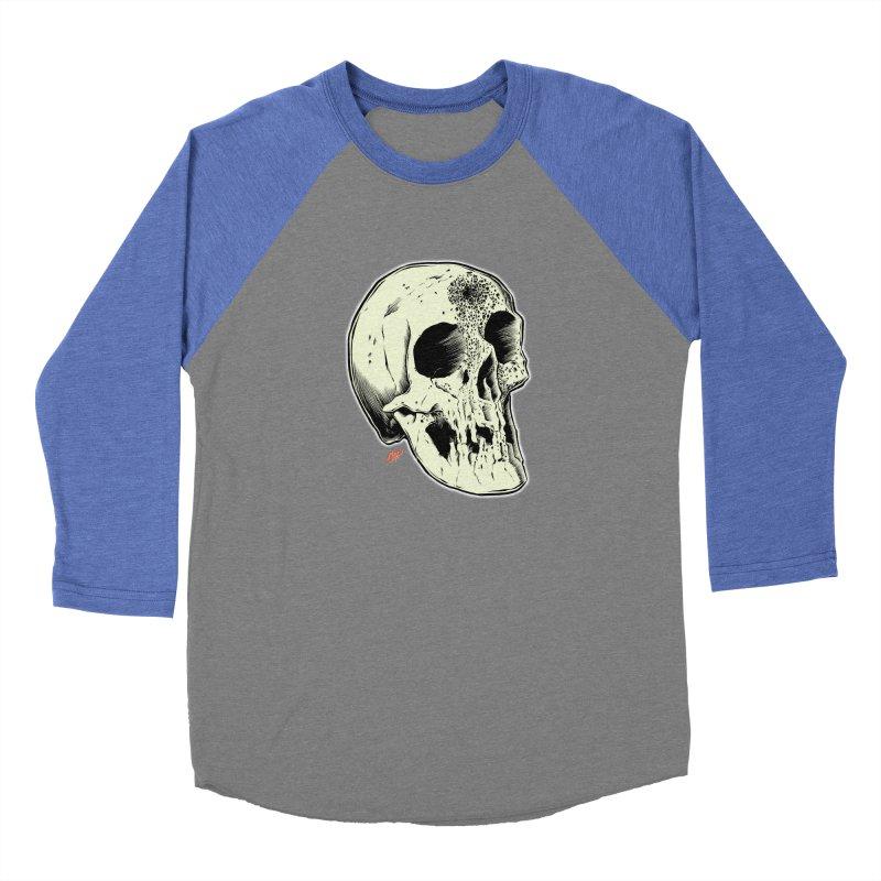 Voodoo Skull Men's Baseball Triblend Longsleeve T-Shirt by The Art of Coop