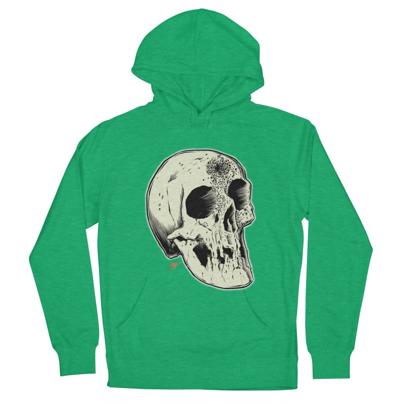 Voodoo Skull Women's French Terry Pullover Hoody by The Art of Coop