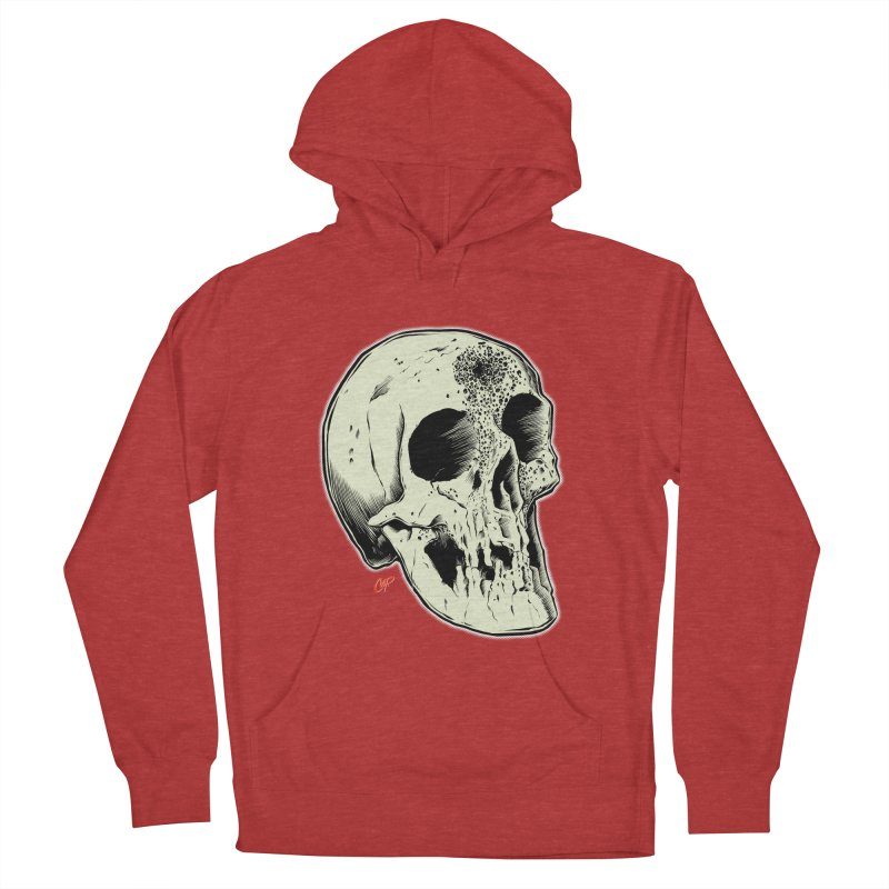 Voodoo Skull Men's French Terry Pullover Hoody by The Art of Coop