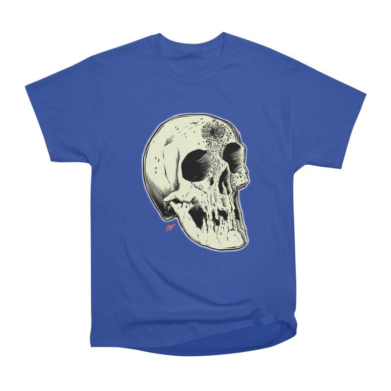 Voodoo Skull Women's Heavyweight Unisex T-Shirt by The Art of Coop