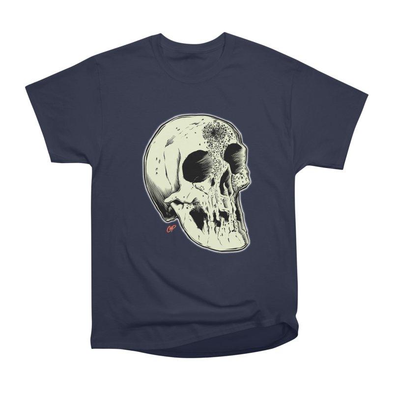 Voodoo Skull Men's Heavyweight T-Shirt by The Art of Coop