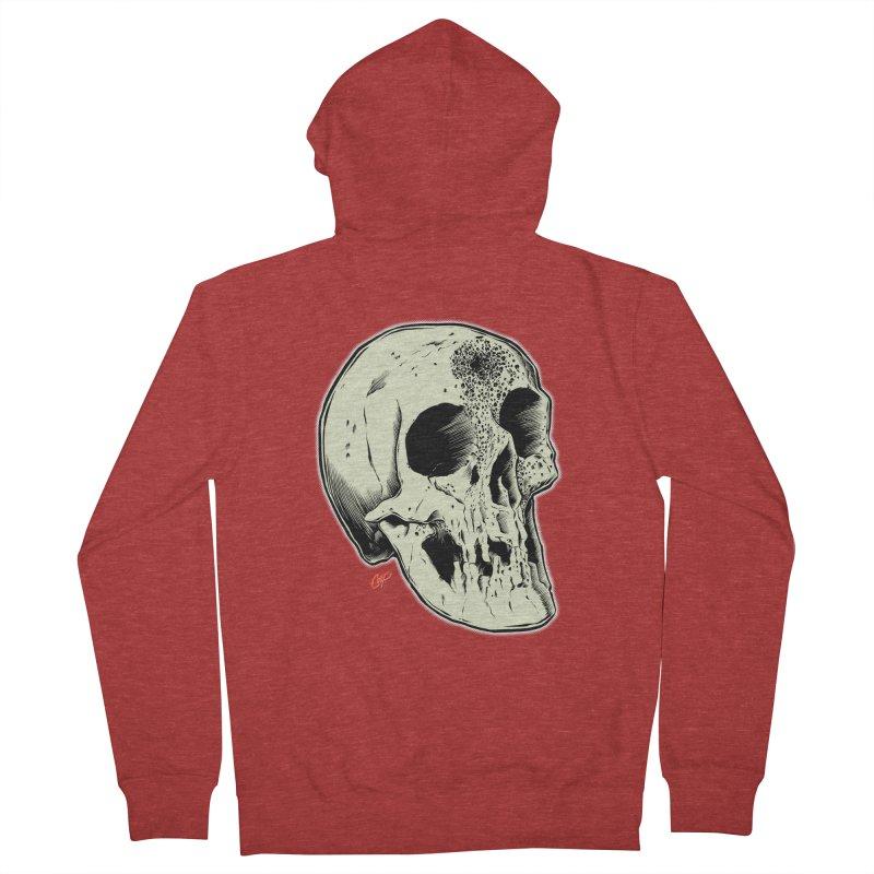 Voodoo Skull Women's French Terry Zip-Up Hoody by The Art of Coop