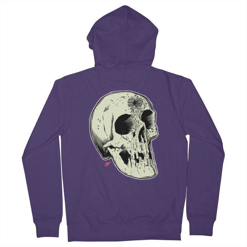 Voodoo Skull Women's French Terry Zip-Up Hoody by The Art of Coop