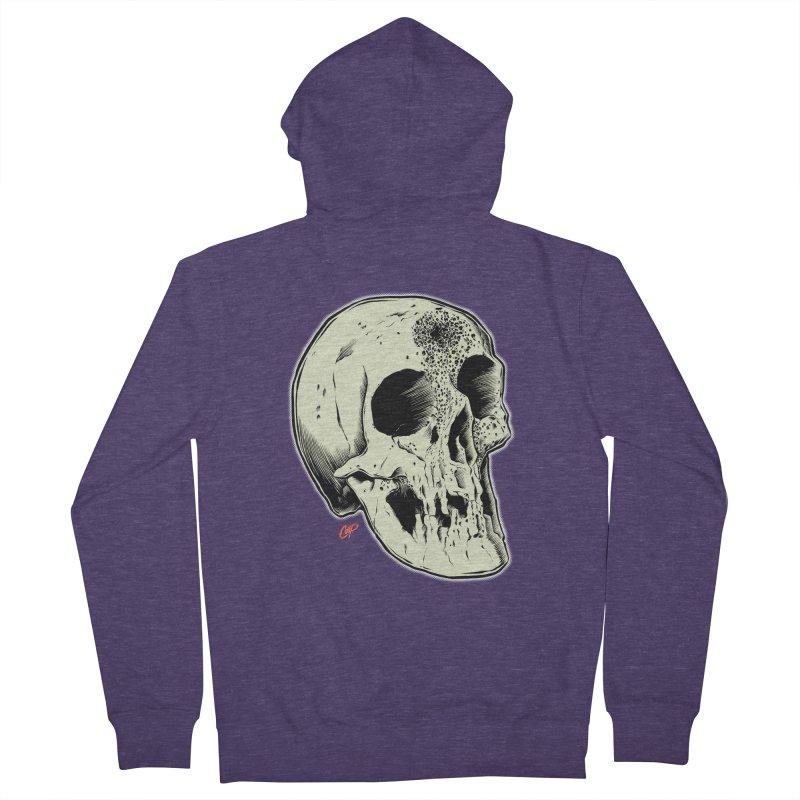 Voodoo Skull Men's French Terry Zip-Up Hoody by The Art of Coop