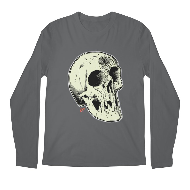 Voodoo Skull Men's Regular Longsleeve T-Shirt by The Art of Coop