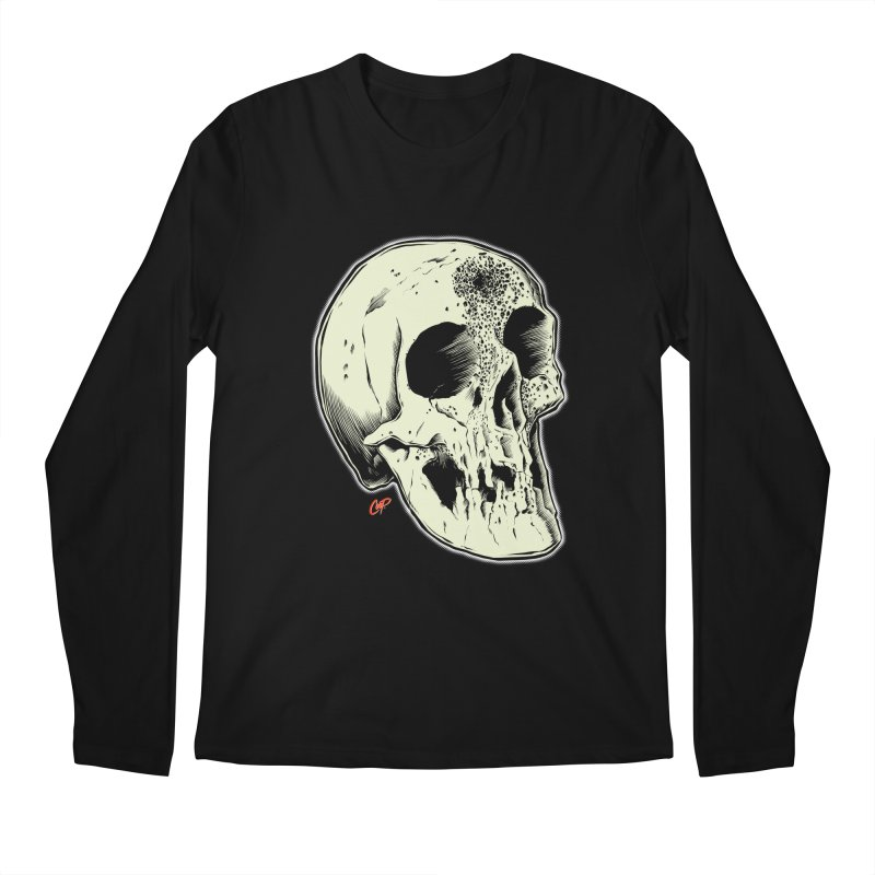 Voodoo Skull Men's Regular Longsleeve T-Shirt by The Art of Coop