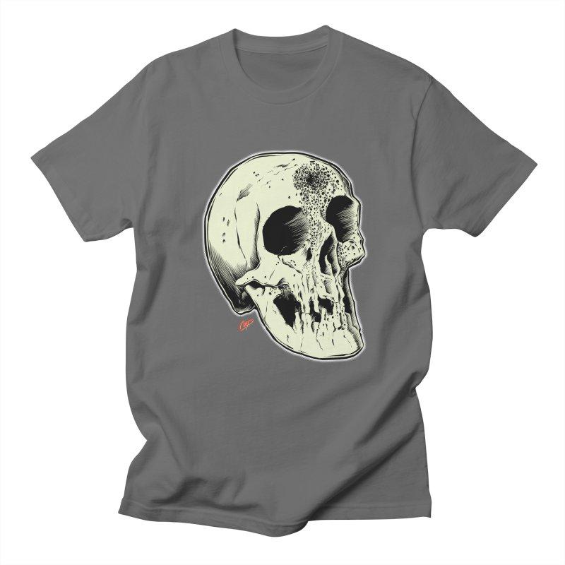 Voodoo Skull Men's T-Shirt by The Art of Coop