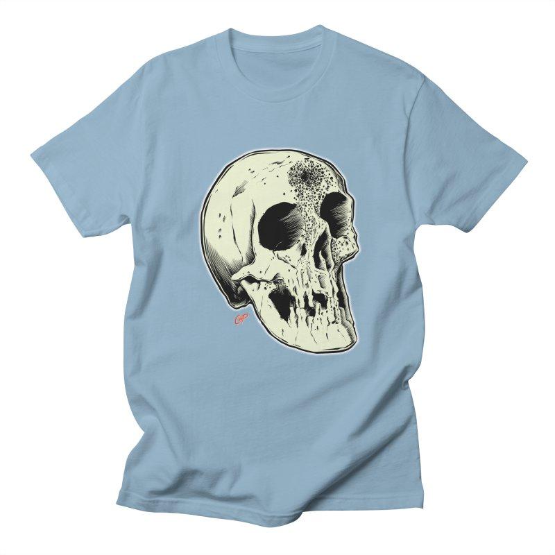 Voodoo Skull Women's Regular Unisex T-Shirt by The Art of Coop