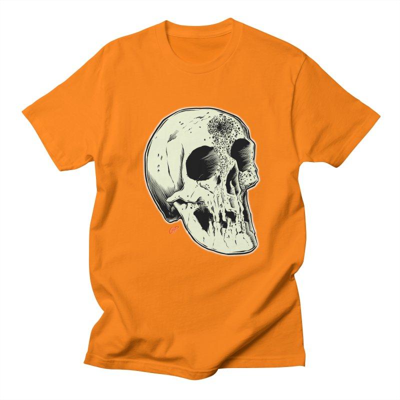 Voodoo Skull Men's Regular T-Shirt by The Art of Coop