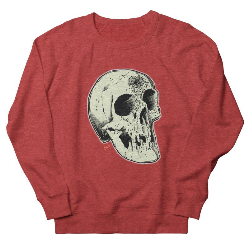 Voodoo Skull Women's French Terry Sweatshirt by The Art of Coop