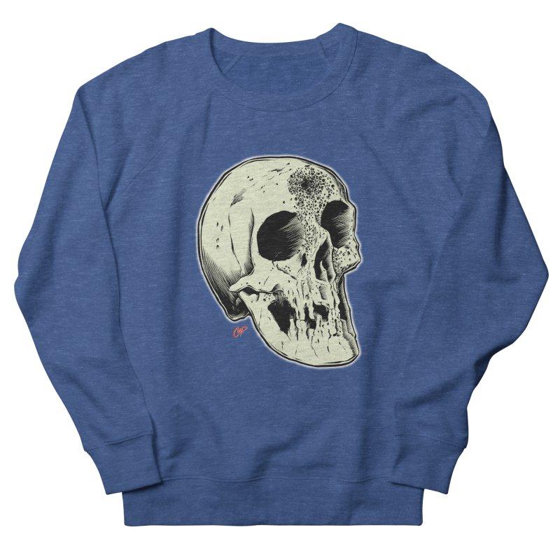 Voodoo Skull Men's French Terry Sweatshirt by The Art of Coop