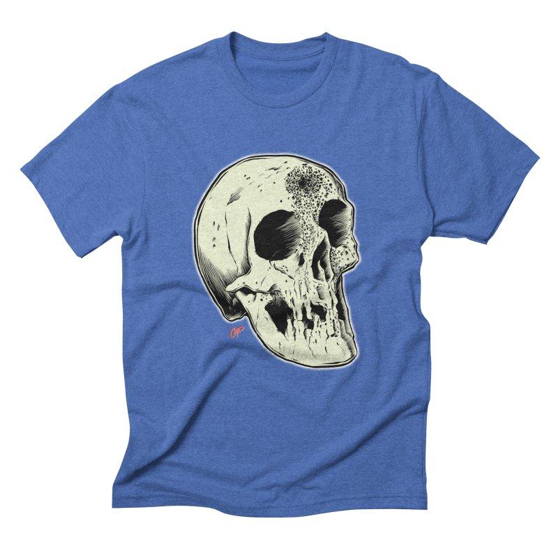 Voodoo Skull Men's Triblend T-Shirt by The Art of Coop
