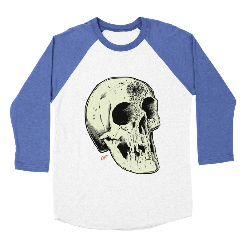 Voodoo Skull Women's Baseball Triblend Longsleeve T-Shirt by The Art of Coop