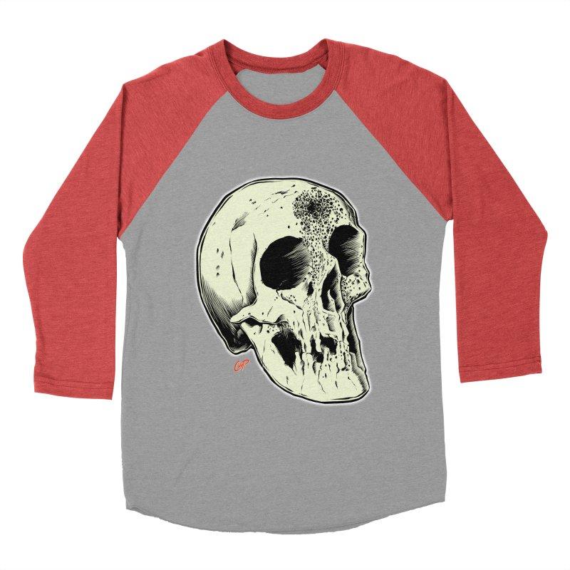 Voodoo Skull Women's Baseball Triblend Longsleeve T-Shirt by The Art of Coop