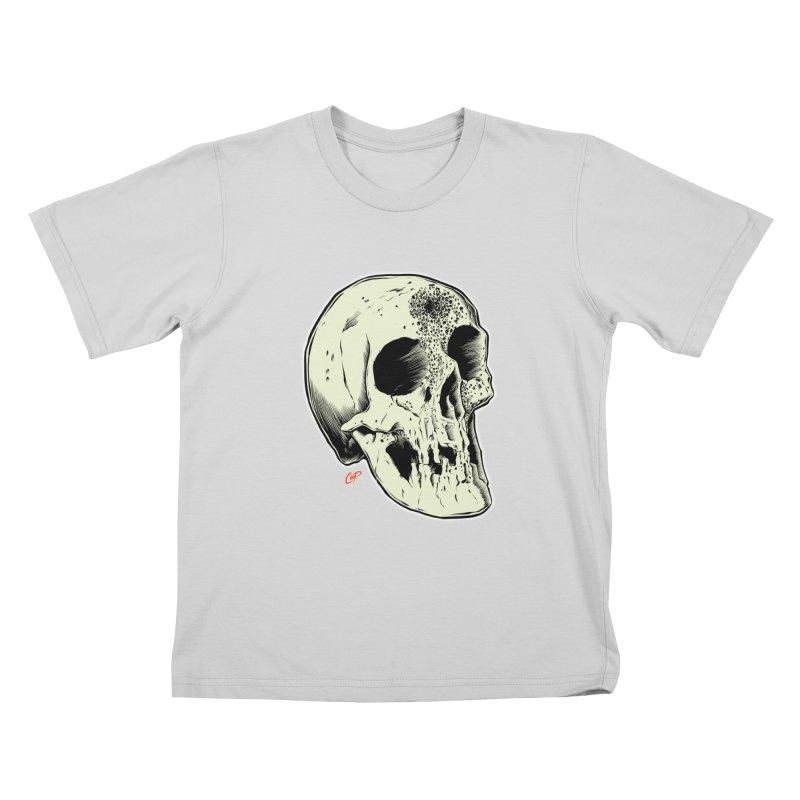 Voodoo Skull Kids T-Shirt by The Art of Coop
