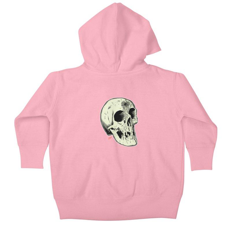 Voodoo Skull Kids Baby Zip-Up Hoody by The Art of Coop