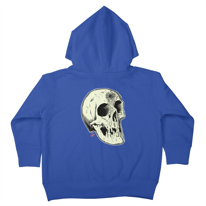 Voodoo Skull Kids Toddler Zip-Up Hoody by The Art of Coop
