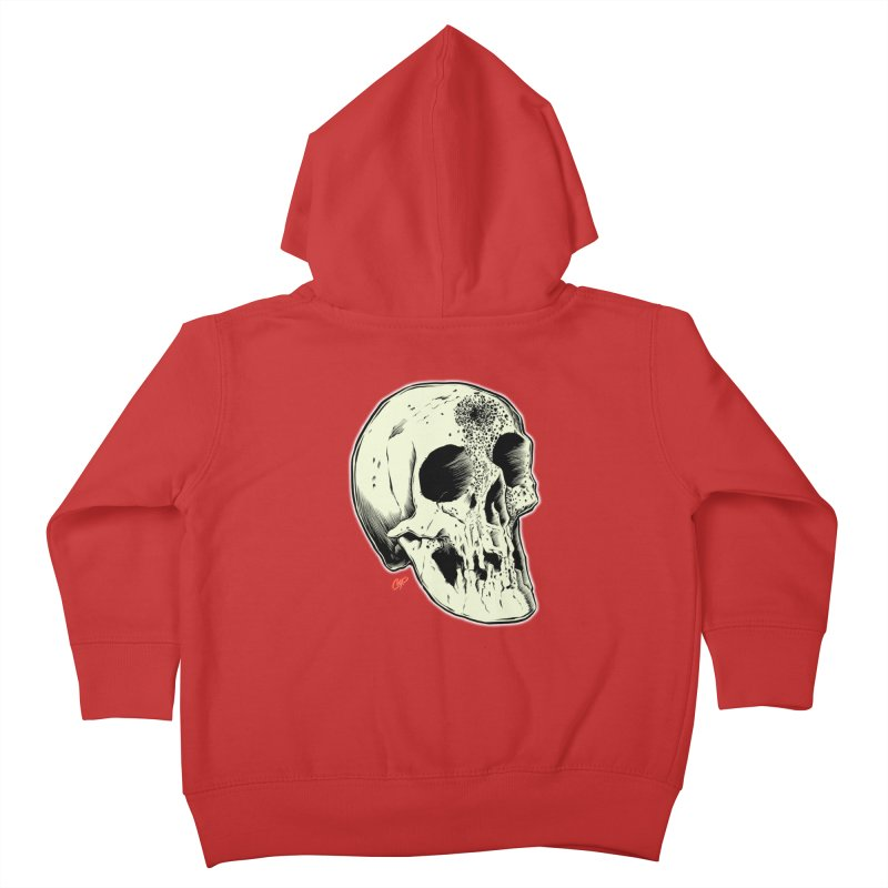 Voodoo Skull Kids Toddler Zip-Up Hoody by The Art of Coop