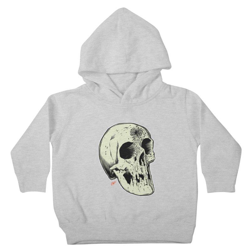 Voodoo Skull Kids Toddler Pullover Hoody by The Art of Coop