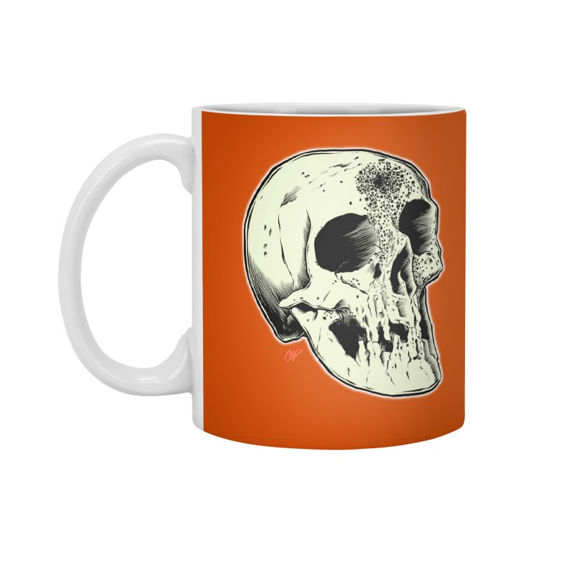 Voodoo Skull Accessories Standard Mug by The Art of Coop