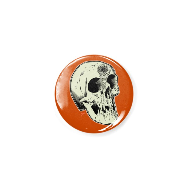 Voodoo Skull Accessories Button by The Art of Coop