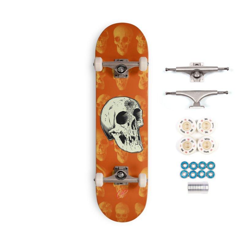 Voodoo Skull Accessories Complete - Premium Skateboard by The Art of Coop