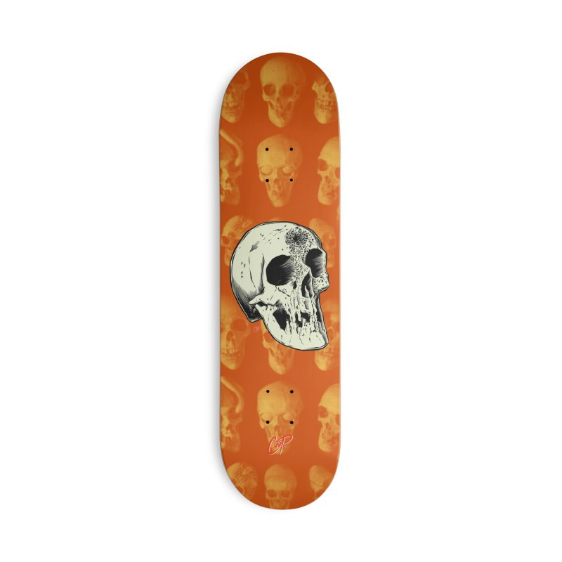 Voodoo Skull Accessories Deck Only Skateboard by The Art of Coop