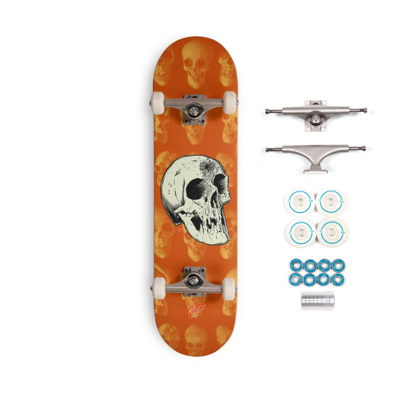 Voodoo Skull Accessories Complete - Basic Skateboard by The Art of Coop