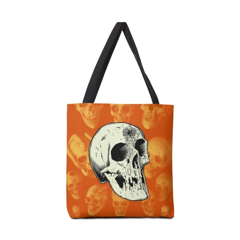 Voodoo Skull Accessories Tote Bag Bag by The Art of Coop