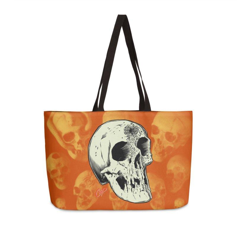 Voodoo Skull Accessories Weekender Bag Bag by The Art of Coop