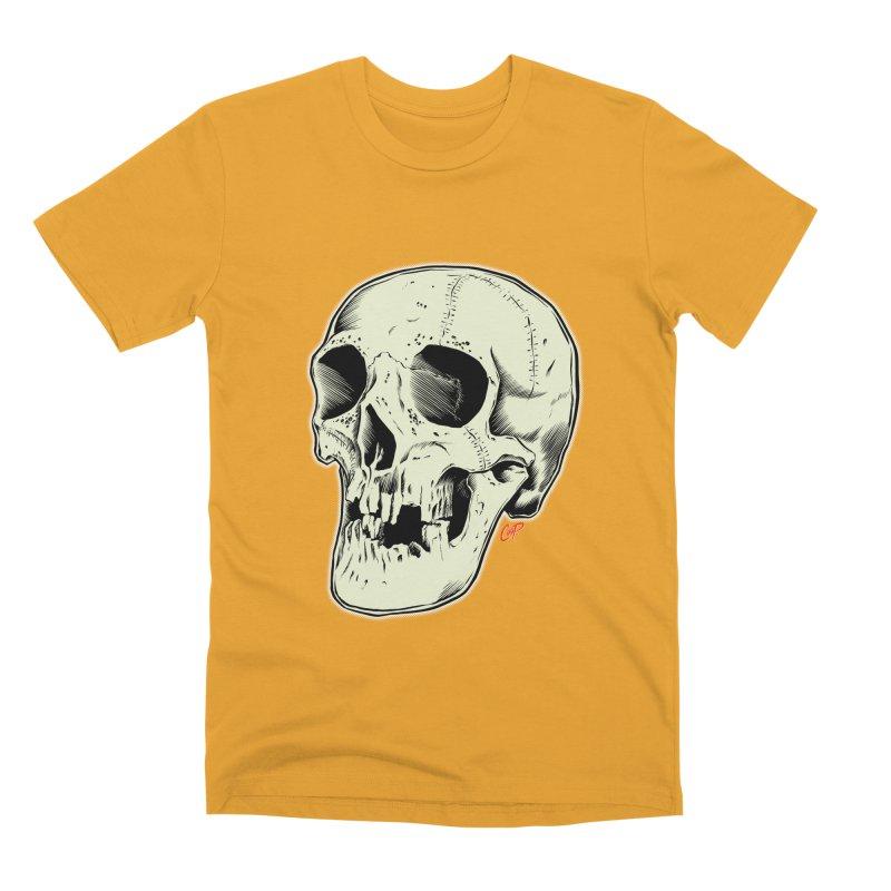 HAUNTED SKULL Men's Premium T-Shirt by The Art of Coop