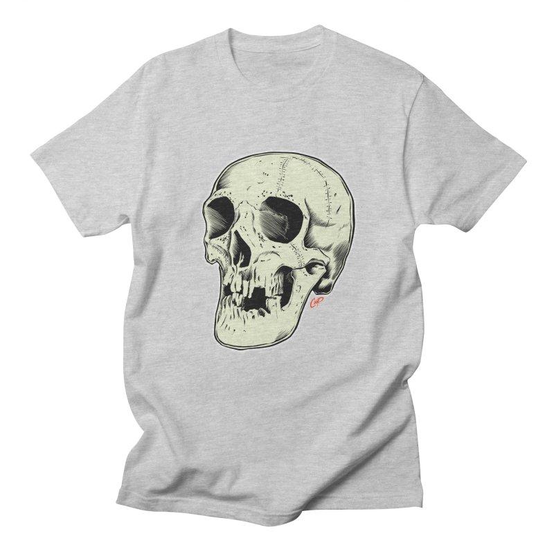 HAUNTED SKULL Men's Regular T-Shirt by The Art of Coop