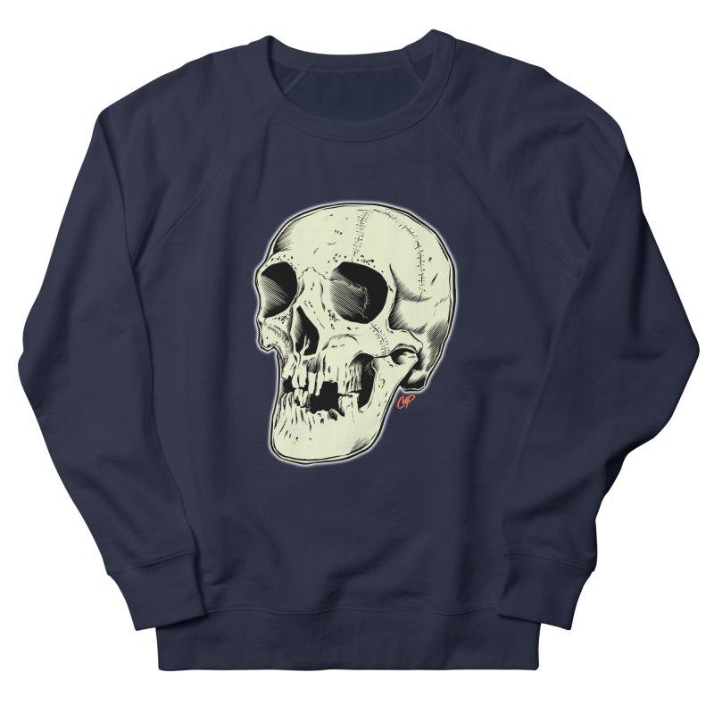HAUNTED SKULL Men's French Terry Sweatshirt by The Art of Coop