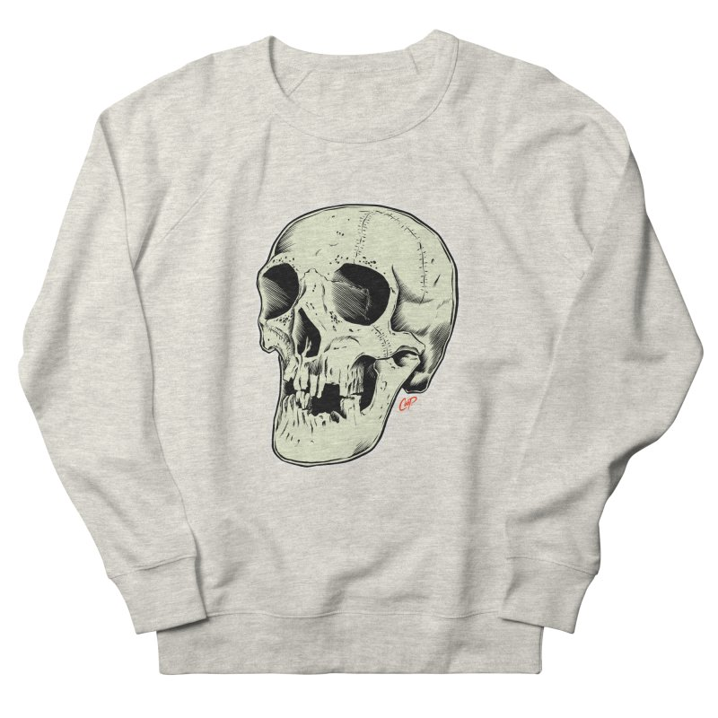 HAUNTED SKULL Men's French Terry Sweatshirt by The Art of Coop