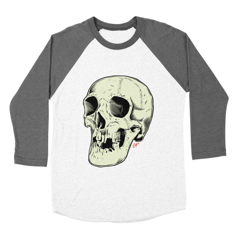 HAUNTED SKULL Women's Longsleeve T-Shirt by The Art of Coop