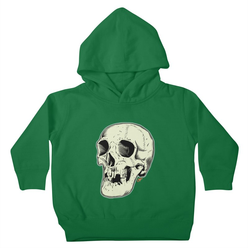 HAUNTED SKULL Kids Toddler Pullover Hoody by The Art of Coop