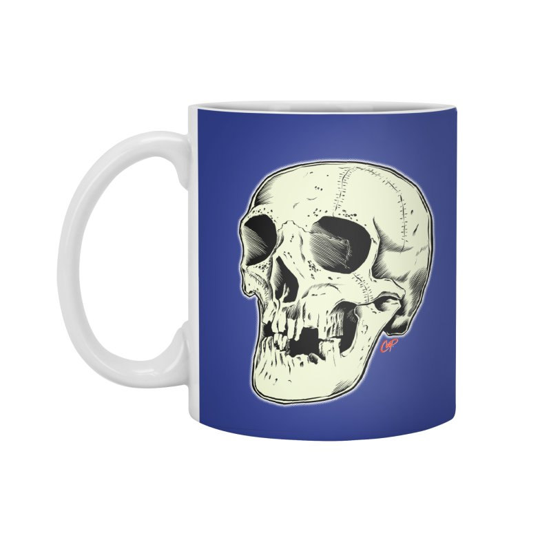 HAUNTED SKULL Accessories Standard Mug by The Art of Coop