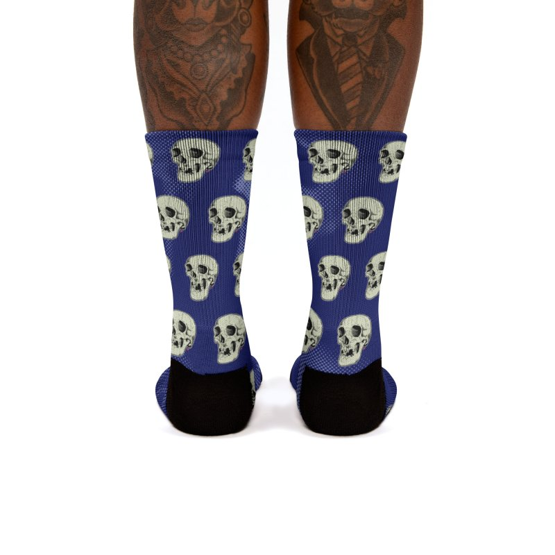 HAUNTED SKULL Women's Socks by The Art of Coop