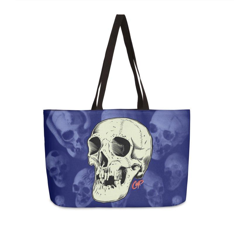 HAUNTED SKULL Accessories Weekender Bag Bag by The Art of Coop