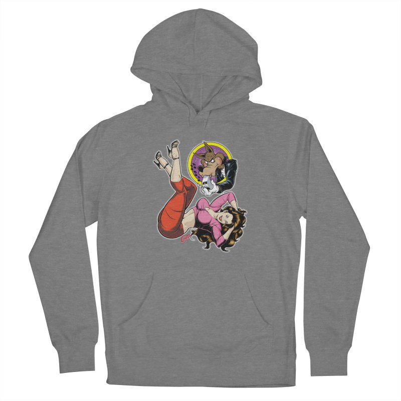 WOLF WHISTLE Women's Pullover Hoody by The Art of Coop
