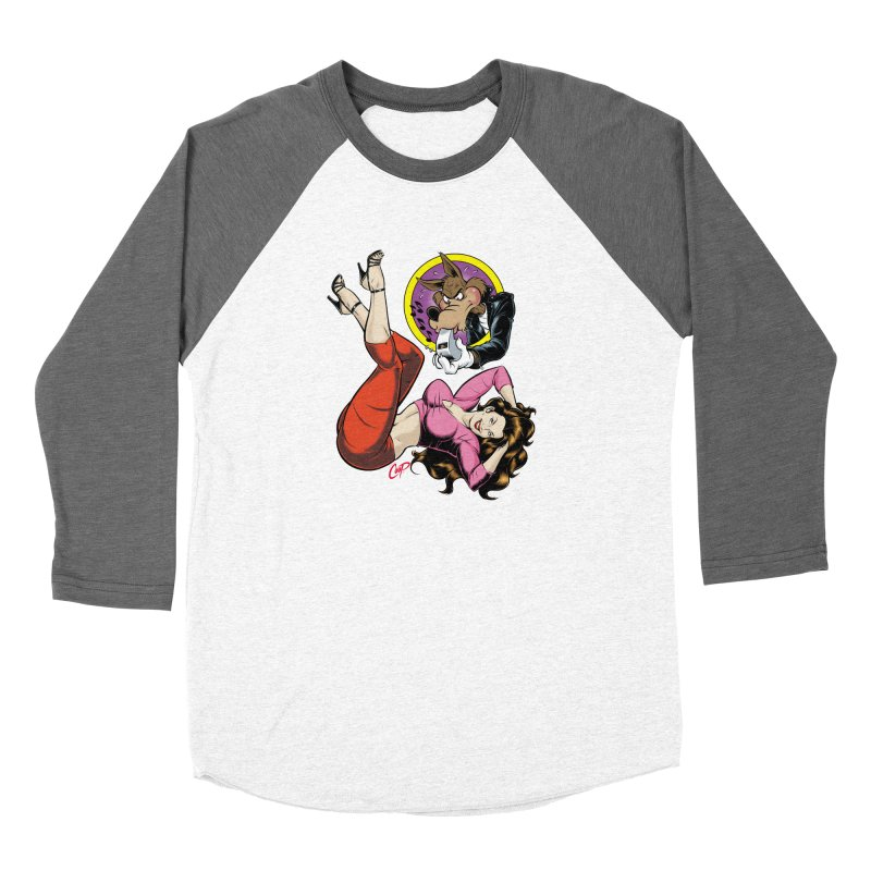 WOLF WHISTLE Women's Longsleeve T-Shirt by The Art of Coop