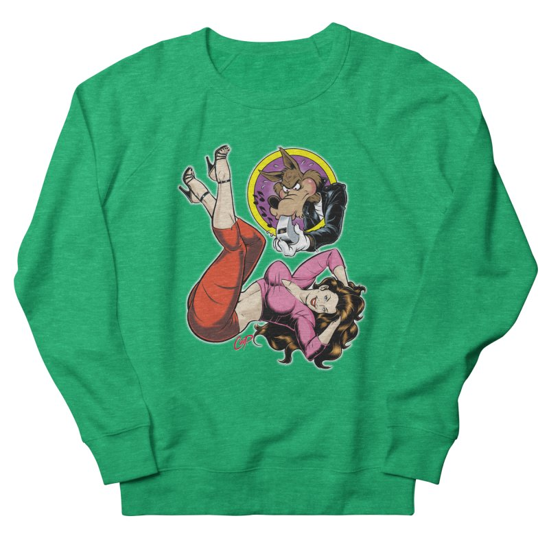 WOLF WHISTLE Women's Sweatshirt by The Art of Coop