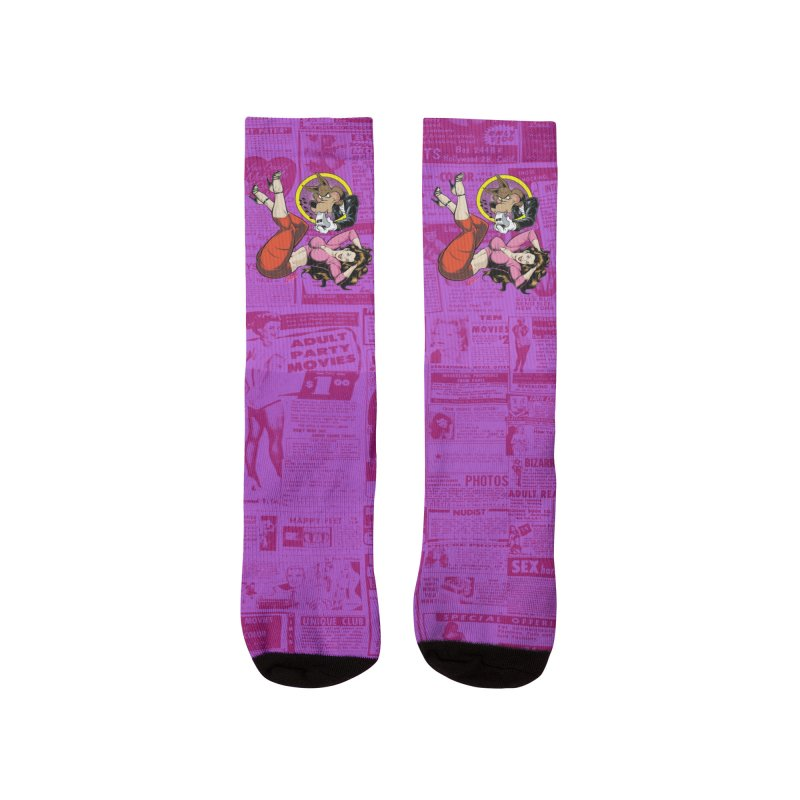 WOLF WHISTLE Men's Socks by The Art of Coop