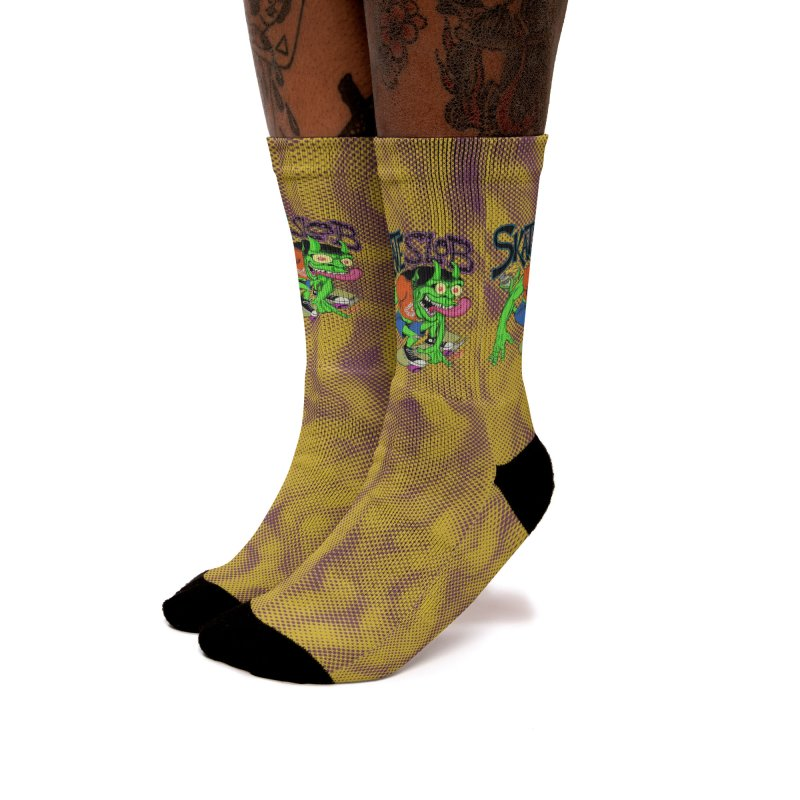 SKATE SLOB Women's Socks by The Art of Coop