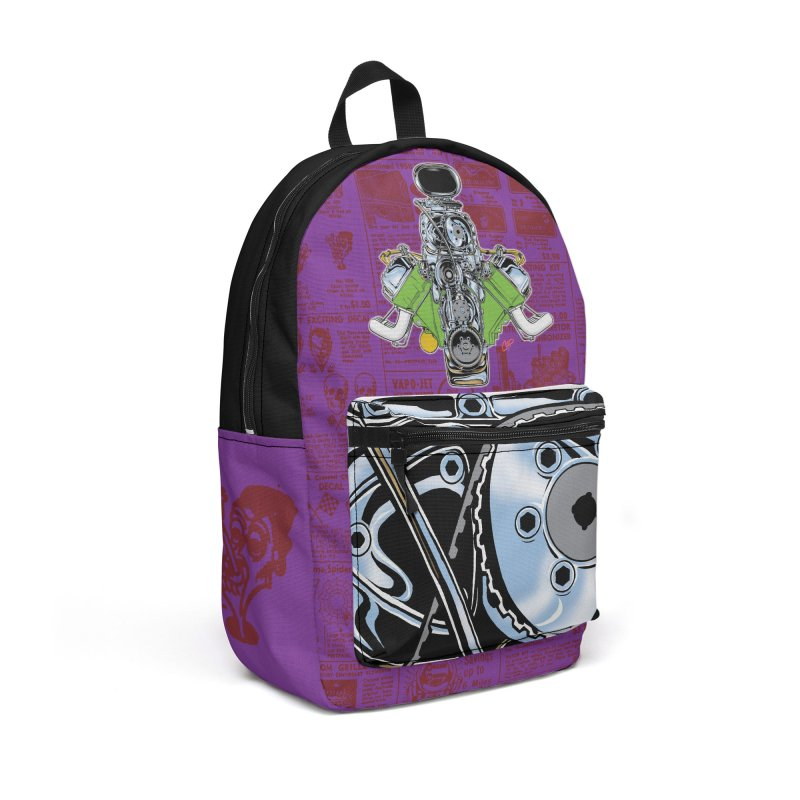 GIMME HEMI Accessories Backpack Bag by The Art of Coop
