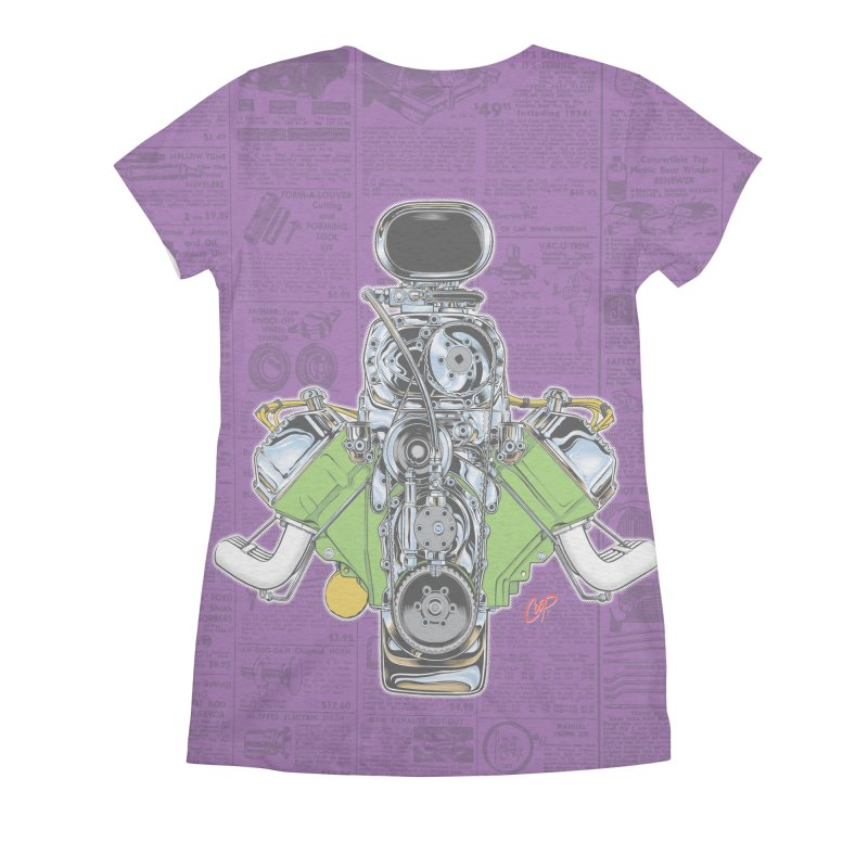 GIMME HEMI Women's All Over Print by The Art of Coop