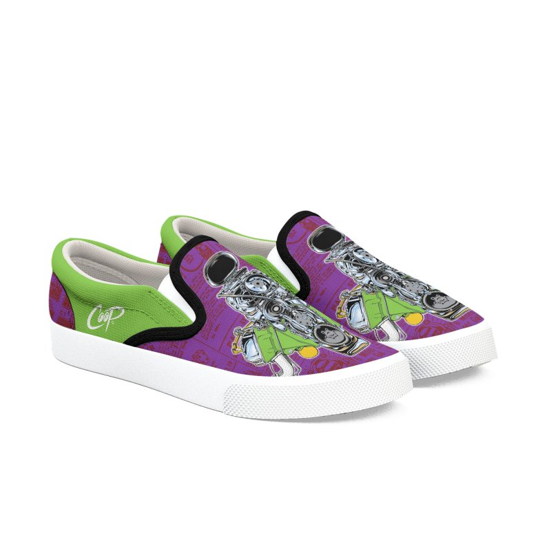 GIMME HEMI in Men's Slip-On Shoes by artofcoop's Artist Shop