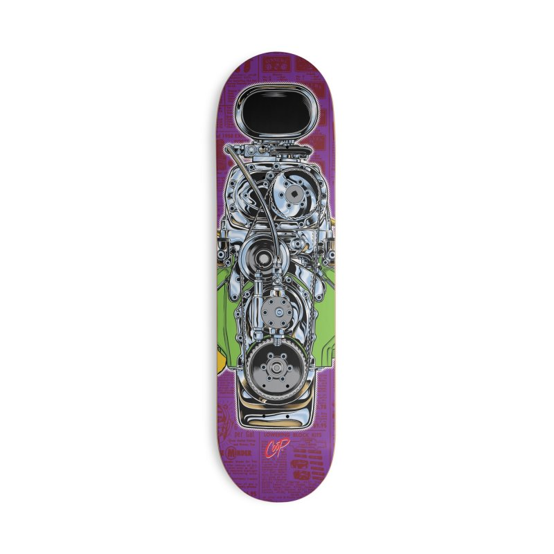 GIMME HEMI Accessories Skateboard by The Art of Coop